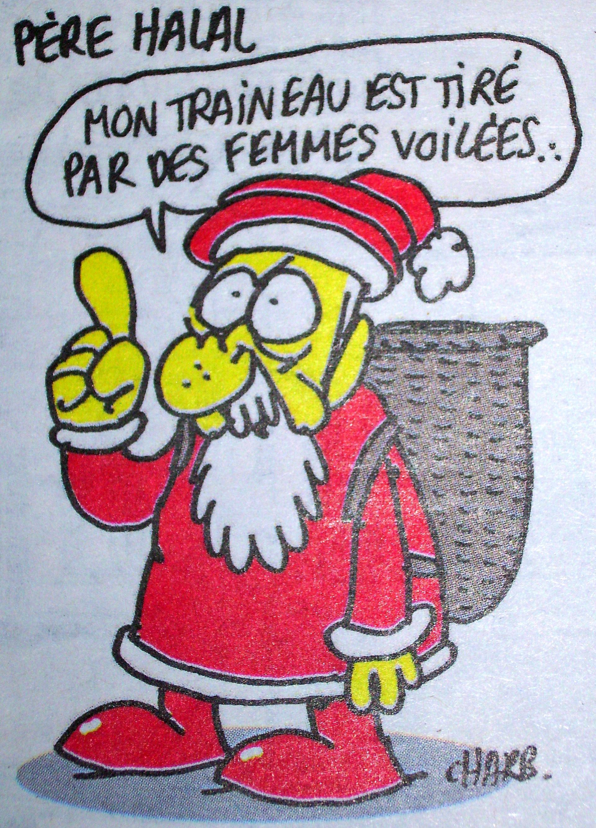 Le p re no l est un terroriste r sistance inventerre - Dessin humour noel ...