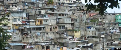 HAITI-SLUMS-HOUSING-PROTEST