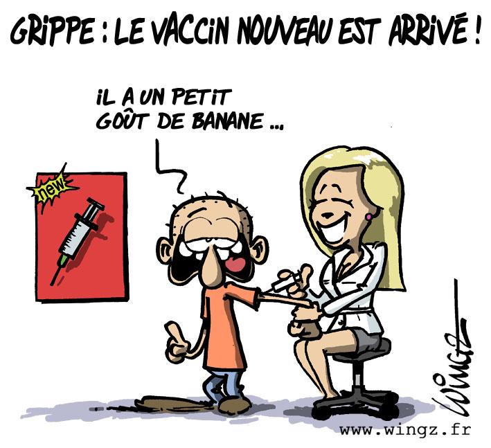 """Résultat de recherche d'images pour """"vaccin grippe humour"""""""