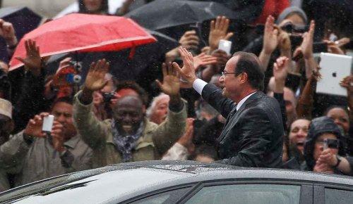 ahollande sous la pluie