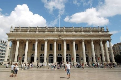 Op ra de bordeaux le s isme provoqu par l incroyable for W architecture bordeaux