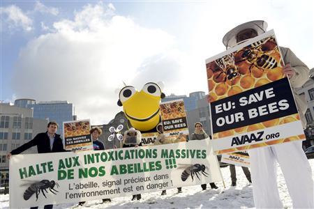 PAS D'ACCORD À BRUXELLES SUR L'INTERDICTION DE PESTICIDES NOCIFS POUR LES ABEILLES