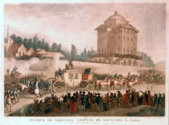 Retour de Varennes (23 juin 1791)