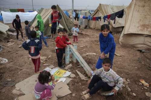 akurdes enfants réfugiés