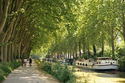 Canal du Midi. Tourisme