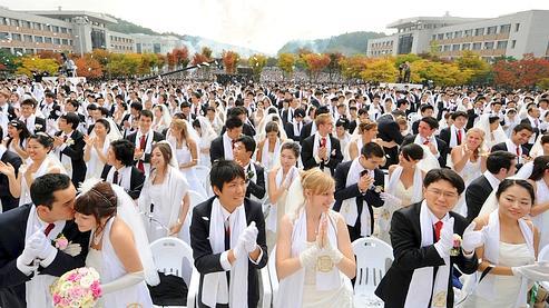 SKOREA-RELIGION-UNIFICATION-WEDDING