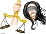 justice auxyeux bansés noir