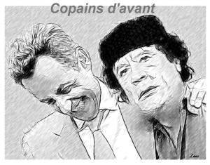 khadafi copain d'avant
