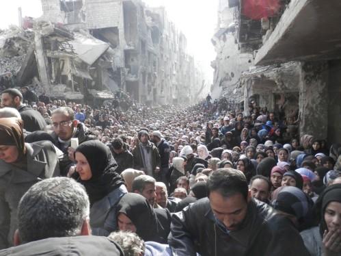 asyrie camp Yarmouk