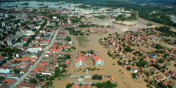 aserbie inondations