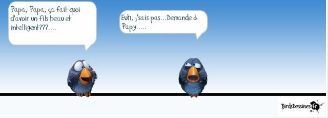 ablague beau intelligent papy