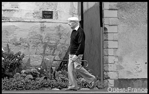 Julien Gracq en promenade OF