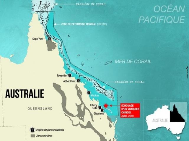australie barrière corail