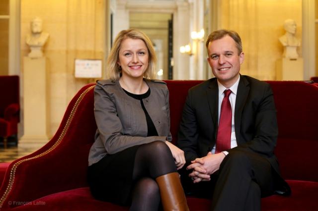 Barbara Pompili et François De Rugy