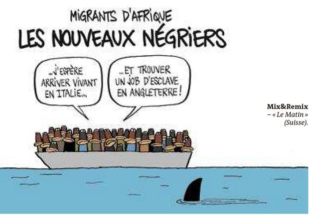 Extrêmement Humour « noir sur les migrants : Triste réalité –   «Résistance  KK92