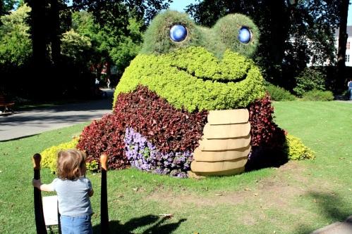 Pays de loire nantes le jardin des plantes victime de for Swing jardin nantes 2015