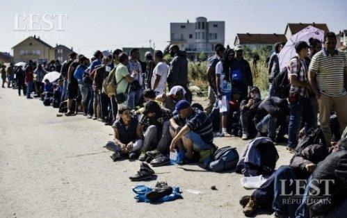 aRéfugiés-migrants -viennent-de-franchir-la-frontiere-entre-la-macedoine-et-la-serbie-en-route-vers-l-europe-du-nord-photo-afp