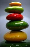 trois verts, deux jaunes & un rouge