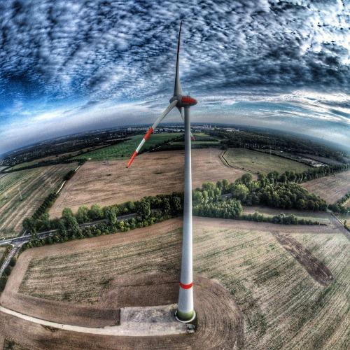 Wind power near Berling.