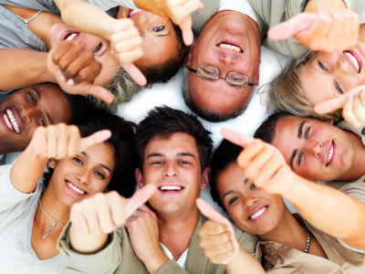 Education group-thumbs up