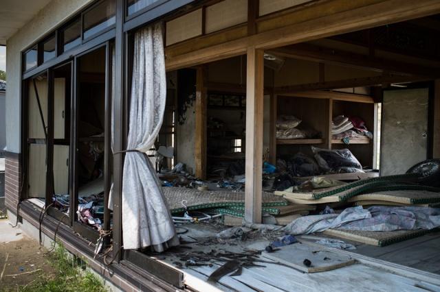Reportage pour S&A - reouverture zone interdite - Odaka