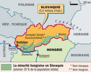 Slovaquie-Hongrie-carte-Courrier-International