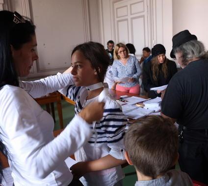 CASTING D ENFANTS POUR LE PROCHAIN TOURNAGE DU FILM DE NICOLAS VANIER SOLOGNE CASTING CENTRE A LA MAIRIE DE BLOIS