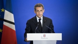 FRA: Paris: Attack in Rouen: Nicolas SARKOZY held a press conference