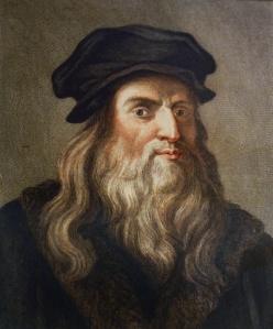 Portrait de LŽonard de Vinci (1452 - 1519) (Leonardo da Vinci)