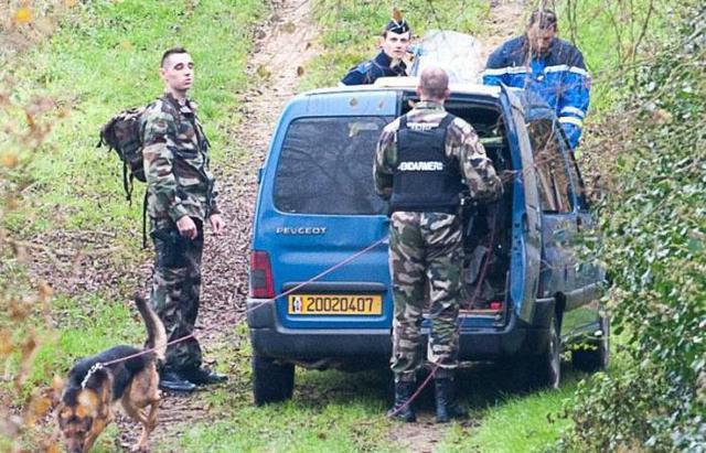 Brigade cynophile - Gendarmerie - Melle