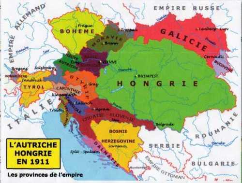 autriche-hongrie-1911