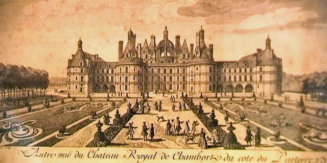 chambord-xviii-gravure