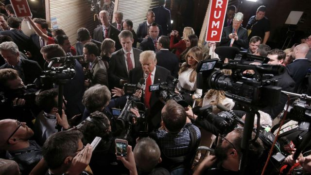 u-s-republican-presidential-candidate-donald-trump-speaks-with-the-media-in-the-spin-room-after-the-republican-u-s-candidates-debate-sponsored-by-cbs-news-and-the-republican-nati