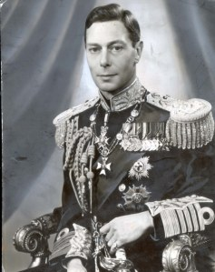 PKT932 - 62246 LP3D KING GEORGE VI AND QUEEN ELIZABETH (THE QUEEN MOTHER) EARLY PORTRAITS - UP TO 1952 Official photograph of His Majesty the King, 1937