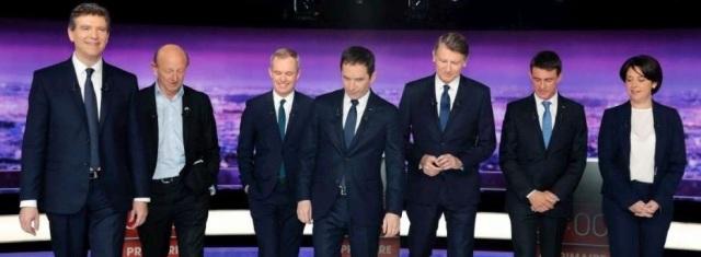 les-candidats-a-la-primaire-de-la-gauche-ont-debattu-ensemble-jeudi-soir-sur-tf1