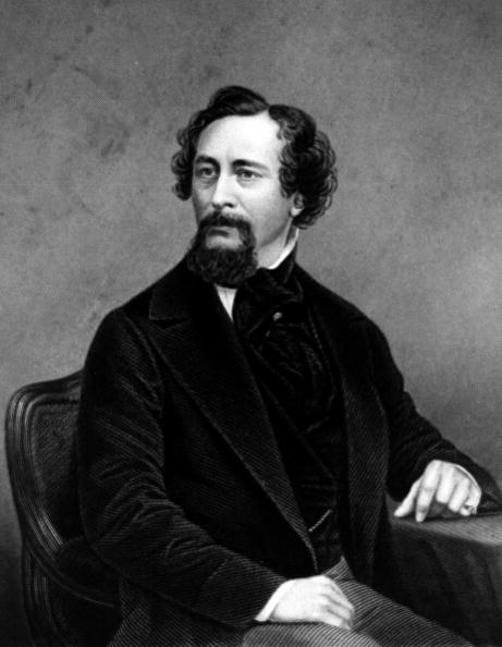 Literature, pic: circa 1850, Charles Dickens, (1812-1870) English novelist, famous for his memorable characters and portraying the social evils of Victorian England, His many works included Pickwick Papers, 1836, Oliver Twist, 1838, David Copperfield, 1849, and Great Expectations, 1861 (Photo by Popperfoto/Getty Images)